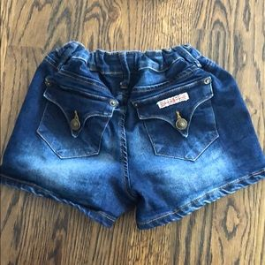 Hudson girls' denim shorts. Size 16.